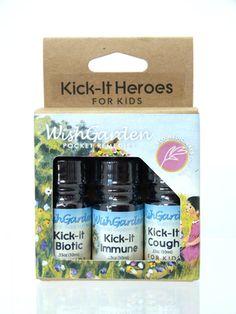 Kick-it Heroes for Kids | WishGarden Herbs