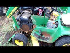 john deere 214 engine youtube john deere 214 lawn tractor rh pinterest co uk John Deere Combine Harvester John Deere Combine Harvester