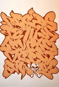 La gente de Don't Panic ha tenido una iniciativa muy interesante. Aliados con Thames & Hudson (los editores del libro de MadC Street Fonts) propusieron una competición que constaba en diseñar stu propio alfabeto Graffiti.  Pues bien, el concurso ha llegado a su fin y ya tienen ganador. Derek Beers, que vió publicada su obra en la fiesta de presentación del libro de MadC y se llevó su correspodiente ejemplar del libro por la patilla y un vale de 300 pounds para fundirse en libros de dicha…