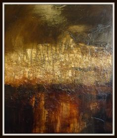 "Saatchi Art Artist: John Bainbridge; Oil 2014 Painting ""Edge"""