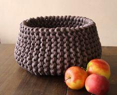 Strickkorb aus NewLine - Verbrauch ca. 3 Bollen Textilgarn