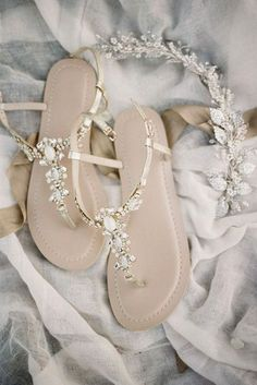 27 Wedding Sandals You'll Want To Wear Again ❤ See more: http://www.weddingforward.com/wedding-sandals/ #weddings