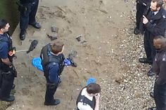 Treasure hunter unearths stash of five handguns on River Thames shore