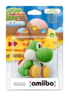 [NINTENDO] Accessoire Wii U. 19,90€ (Prix moyen neuf). Jeu et Amiibo 'Yoshi's Woolly World' - Yoshi de laine : Vert.