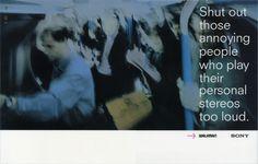 Sony, Avoid; Creatives; Dave Dye & Richard Flintham