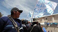 Arequipa: pobladores piden la renuncia del gerente de Autodema