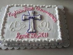 Krista's 1st communion cakes - 1st communion cake