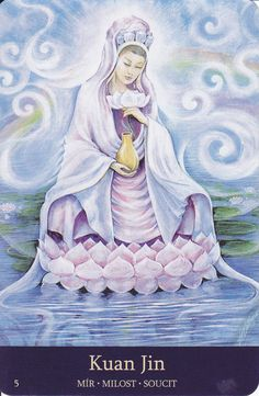 Kuan Yin, Bodhisattva of Compassion Sathya Sai Baba, Buddhist Practices, Sacred Feminine, Divine Feminine, Ascended Masters, Divine Mother, Taoism, Guanyin, Gods And Goddesses