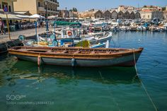 Harbour - Chania Crete by arshute