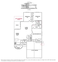 Rutherford 2538 floor plan floor plan creations for Rutherford house plan