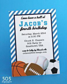 Free Printable Birthday Sports Invitation orderecigsjuiceinfo