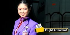 Best Job Ever : Flight Attandant ~.~