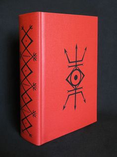 "Dragon Book of Essex by Andrew Chumbley, standard edition 2014. ""O' Milcham-i-Azh'rail! Lift Thou Thy blade to Heaven, seven times tongued with flame, there to cut open the heart of the Sun, that its lifeblood may flow into Thy mouth; thus to empower Thee as the Messenger Divine– the catalyst for the translation of the Seeker's Mind into the Circle of the Seven Stars."""