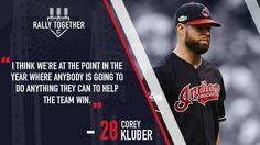 #28 Corey Kluber #Cleveland Indians