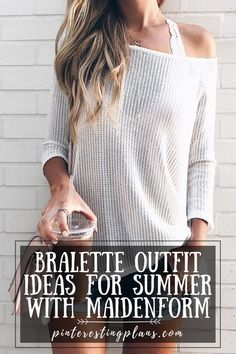 Click to see bralette outfit ideas on Pinteresting Plans! Bralette outfit summer casual. Bralette outfit casual simple. Bralette outfit summer tanks. Bralette outfit summer modest. Bralette outfit ideas casual. Bralette outfit ideas summer. Bralette outfit ideas ways to wear. Wearing a bralette outfit ideas. Bralette outfit casual summer. Styling a bralette outfit ideas. Lace bralette outfit casual shirts. Lace bralette outfit casual how to wear. Bralette outfit casual crop tops. #outfit #ad Dressy Summer Outfits, Summer Outfits Women, Simple Outfits, Stylish Outfits, Spring Outfits, Bralette Outfit Summer, Lace Bralette, Boutique Clothing, Casual Shirts