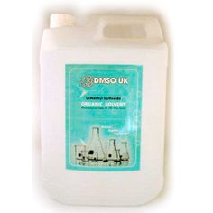 DMSO UK are the leading supplier of pharmaceutical Dimethyl Sulfoxide and our 5 litre refillable container with 99.9% organic DMSO solution is perfect for sports teams, elderly and for long term use and supplies. Please follow recommended guidelines when applying DMSO solution.