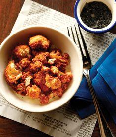 Fried cauliflower and tahini beets recipes - Courtesy of Jason Varney/Zahav.