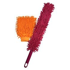 SR Homecare Microfiber Hand Duster with Car Wash Mitt - Premium Quality Scratch Free Cleaning Cloth - Durable Bendable Extendable Duster - Best for Automotive, Auto Detailing, House and High Places (Multi - Purpose) - Washable & Reusable Cleaning Set SkyRox http://www.amazon.com/dp/B00WFSFLR2/ref=cm_sw_r_pi_dp_4XIBvb11ZYWEM