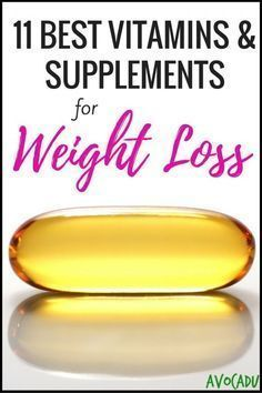 11 Best Vitamins & Supplements for Weight Loss | Vitamins to Help You Lose Weight | Weight Loss Supplements | Avocadu.com