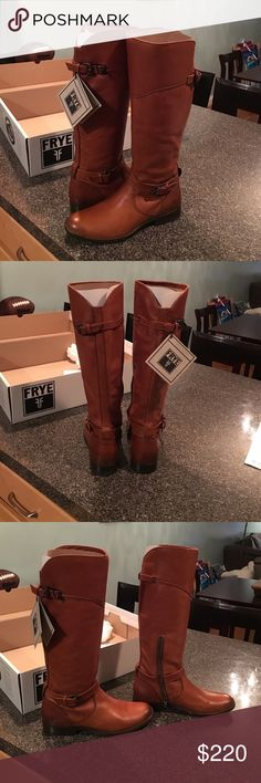 """Frye Phillip Riding boots- NEVER WORN These are GORGEOUS boots, size 9m, """"Whiskey"""" color Frye Shoes"""