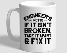 Engineer Gifts  Funny Engineer Spelling Coffee Mug  Engineer