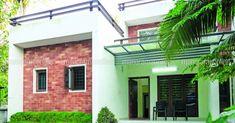 കൗതുകങ്ങൾ നിറയുന്ന വീട്, ഒപ്പം വാസ്തുവും! വിഡിയോ   Home Plans Kerala   House Plans Kerala   Home Style   Manorama Online Low Cost House Plans, Square House Plans, Simple House Plans, Contemporary House Plans, Contemporary Bedroom, Modern House Design, Colonial House Plans, Traditional House Plans, Best Home Design Software