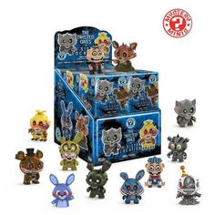 Funko Mystery Mini: Five Nights at Freddy's Twisted Ones (one Mystery Figure) Collectible Figure, Multicolor - Bast Figures Funko Figures, Vinyl Figures, Action Figures, Pop Figures, Funko Mini, Box Twists, Go To Walmart, Funko Mystery Minis, Star Wars Shop