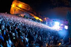 Red Rock's Amphitheater  I miss this place every year during concert season it was such a large part of the 1st 36 years of my life I even graduated high school on that stage