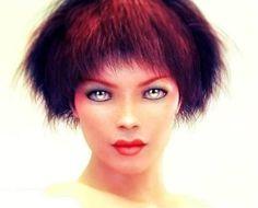 "Saatchi Art Artist Lauro Winck; Photography, ""Green eyes on white background"" #art"