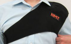 """#NMT #ShoulderBrace"""" Joint #Pain, Arthritis, Bursitis, and Tendinitis #Relief ~ New Natural #Black Tourmaline Remedy for Sore Rotator Cuff and Frozen Shoulder ~ Adjustable Device for #Men & #Women.#NMTPainReliefProducts"""