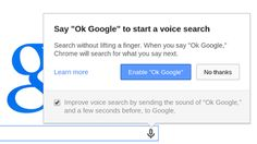 With the latest release of Chrome, all #Chromies can now search by voice in…