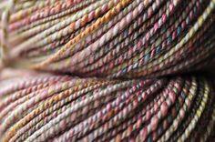 BONNE handspun plied merino/bamboo yarn 192 yards by kittenlogic, $35.00