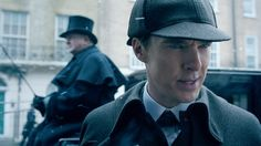 Sherlock in the Christmas special.