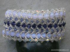 Double flat spiral bracelet