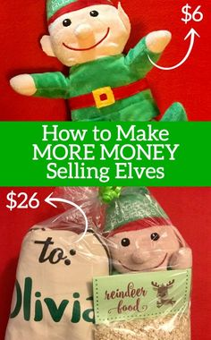 How to Make More Money Selling Personalized Christmas Elves - Cutting for Business Learn how to make more money selling personalized Christmas plush elves with your Silhouette Portrait or Cameo or Cricut Explore or Maker. Christmas Crafts To Sell Make Money, Christmas Craft Fair, Dollar Tree Christmas, Christmas Vinyl, Dollar Tree Crafts, Christmas Items, Christmas Elf, Diy Christmas Gifts, Christmas Projects