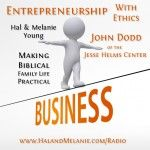 Entrepreneurship with Ethics with John Dodd - This week we meet with John Dodd, the creator and director of an innovative program to teach smart business with a strong foundation of personal responsibility, philanthropy, and integrity. Over 7500 students have completed the program so far – including four of ours! (Hal and Melanie Young) #hsradionetwork
