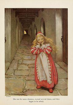 026--The princess and the goblin 1920-ilustrado por Jessie Willcox Smith