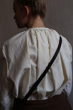 Shirt in cotton FALL 2016 Masha Andrianova www.etsy.com/shop/mashaandrianova Picture Olya Ivanova