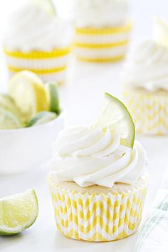 Lemon Lime Cupcakes are loaded with fresh citrus flavor, both in the cake and fluffy buttercream frosting. They're sure to make your summer a little more amazing!