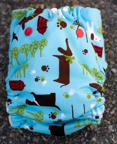 Arfe! One-Size Fitted Diaper by thegoodmama.com, via Flickr