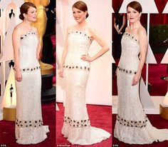 Best Actress Dazzled at the Academy Awards in LA