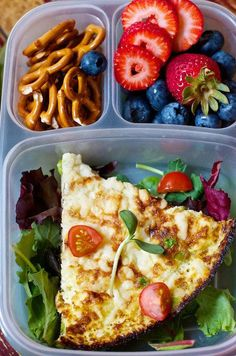 Packed lunch ideas, many vegetarian! :)