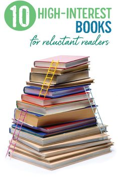 Engage reluctant readers with high-interest books for reluctant readers. Middle school ELA and high school ELA classroom library options. High School Books, High School Literature, Teaching Literature, Literature Circles, Literature Books, Teaching Resources, High School Reading, Teaching Reading, Teaching Kids