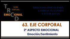 EJERCICIOS FÍSICOS PARA CAMBIAR TU CUERPO Y ESTAR JOVEN.63 Eje Corporal....