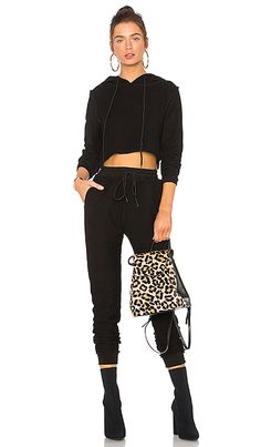 Shop for DANIELLE GUIZIO DG Sweatsuit in Midnight Black at REVOLVE. Free 2-3 day shipping and returns, 30 day price match guarantee.