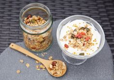 Speedy Sweet Spice Granola  recipe | The Green Machine Wellness Directory www.thegreen-machine.com Sweet Spice, Build A Blog, Healthy Sweet Treats, Granola, Oatmeal, Spices, Wellness, Breakfast, Green