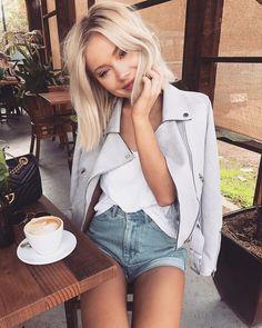 "13.8k Likes, 64 Comments - Laura Jade Stone (@laurajadestone) on Instagram: ""Nothing better than Sunday morning coffee ☕️✨ Wearing @sundaemuse """