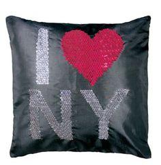 Housse de coussin NY Decoration, New York, Throw Pillows, Slipcovers, Decor, New York City, Cushions, Decorative Pillows, Decorating