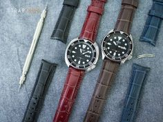 #MiLTAT Semi curved lug watch straps with Seiko watches. Up on our blog now Strapcode.wordpress.com #strapcode