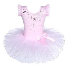 Tutu Ballet, Ballerina Costume, Ballet Dance, Pink Ruffle Dress, Ballet Clothes, Layered Skirt, Pretty Patterns, Dance Outfits, Party Dress